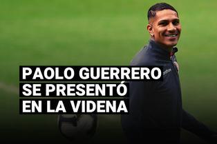 Selección peruana: Paolo Guerrero llegó a la Videna para seguir su proceso de recuperación