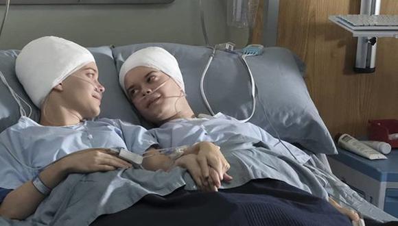 Jenny y Katie Kunkler son interpretadas por las actrices Emily y Elizabeth Hinkler.