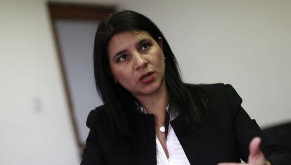 Silvana Carrión, dejará de ser adjunta y ahora será oficialmente procuradora ad hoc para el caso Odebrecht. (Foto: GEC)