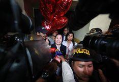 Keiko Fujimori fue puesta en libertad tras fallo del Tribunal Constitucional