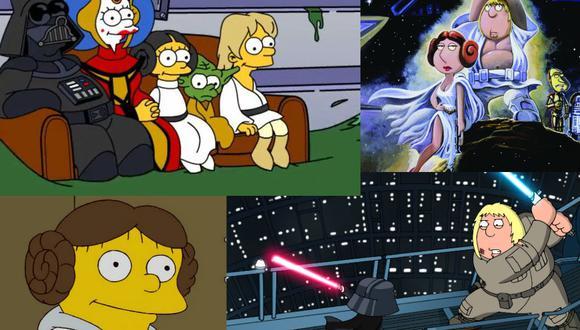 """Durante diciembre transmitirán capítulos icónicos de """"Los Simpson"""", """"Padre de Familia""""  y  lo mejor de la filmografía del director J.J. Abrams. (Fotos: FOX)"""