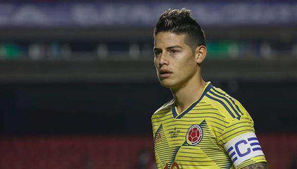 James Rodríguez se puede sumar al Nápoli en la siguiente temporada. (Foto: AFP)