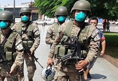 62 mil efectivos de las Fuerzas Armadas se encargarán de la seguridad de los locales de votación a nivel nacional