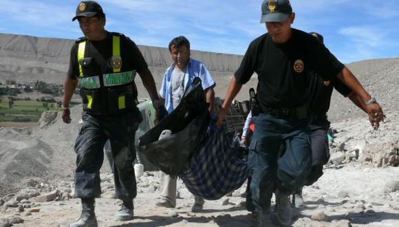 Fallecido fue llevado a la morgue del hospital San Ignacio de Casma. (USI/Referencial)
