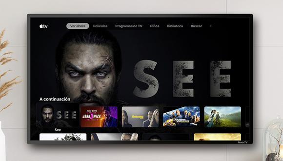 Apple TV+  incluye una amplia oferta de shows protagonizados por celebridades. (Foto: Roku)