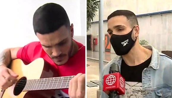 """Mario Irivarren generó polémica al aceptar grabar un tema para """"En boca de todos"""". Esto luego que se conociera la pasión que siente por la música. (Foto: Capturas de pantalla / América TV)"""