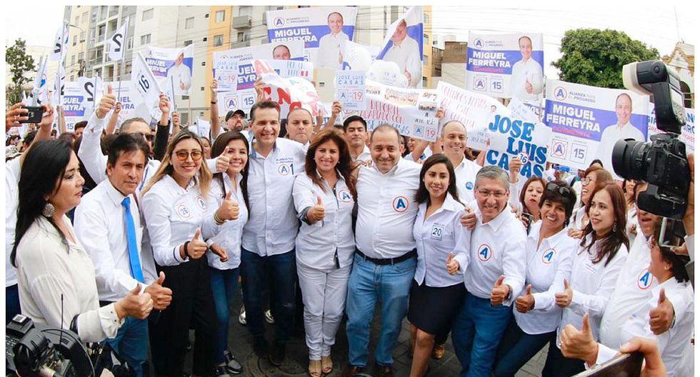 APP es el partido que lleva a más candidatos con procesos abiertos por presunta corrupción. Foto: GEC