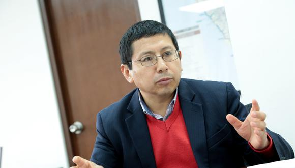 """Trujillo agradeció al presidente Vizcarra por la oportunidad y aseveró que el MTC """"está listo para ejecutar las principales obras que el país necesita"""". (Foto: GEC)"""