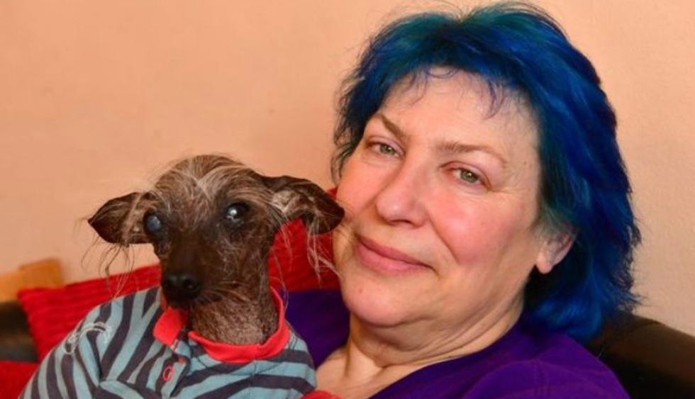 """Chese, uno de los perros """"más feos"""" del mundo ha fallecido. (Foto: Facebook/Storm Shayler)"""