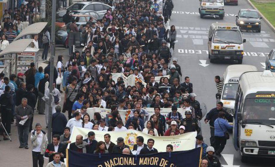Alistan nuevas protestas. (Martín Pauca)