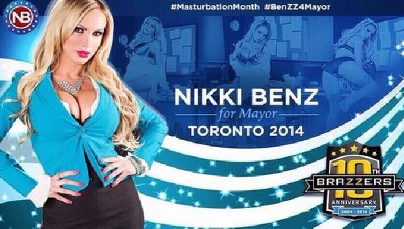Actriz porno quiere ser la nueva alcaldesa de Toronto. (Difusión)