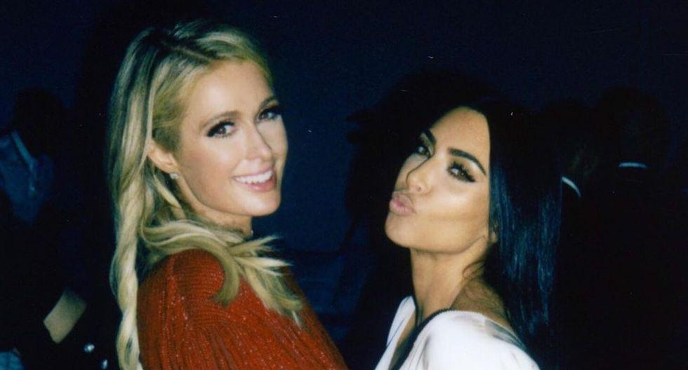 Kim Kardashian subió unas fotografías junto a Paris Hilton en su cuenta personal de Instagram.