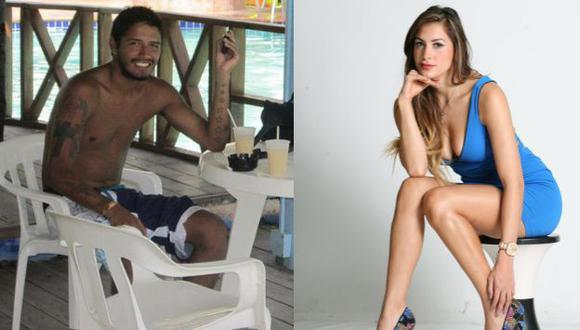 ¿Lo cumplirá? Reimond Manco retó a Milett Figueroa a unirse a la campaña Ice Bucket Challenge. (USI)