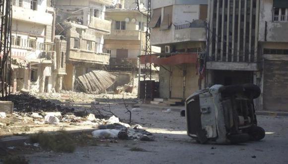 Utilizan blindados en la capital. (Reuters)