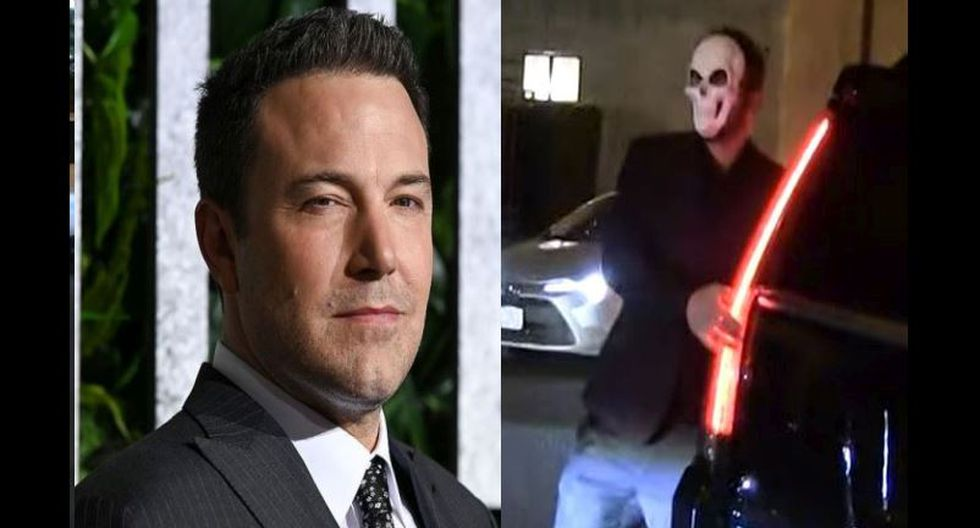 Ben Affleck recae en el alcoholismo: Actor no podía mantenerse de pie en fiesta por Halloween. | AFP/Captura TMZ
