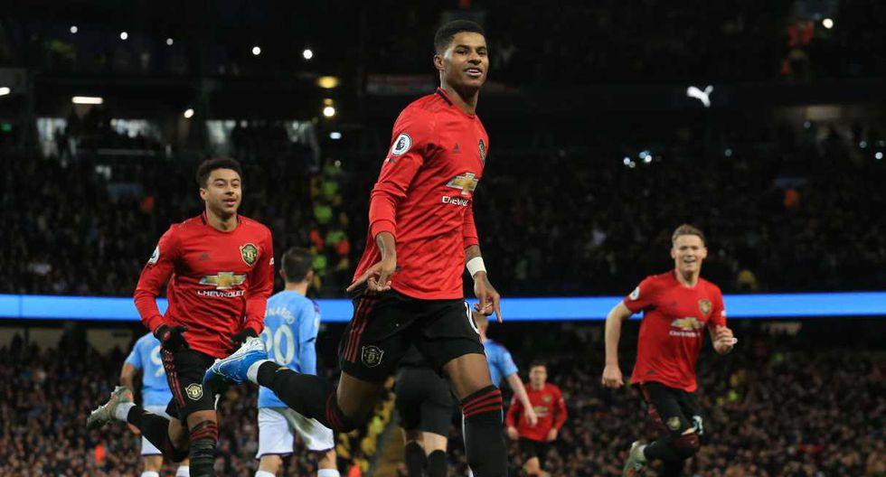 Manchester United vs. Everton se enfrentan en la jornada 17 de la Premier League. (Foto: AFP)