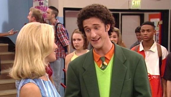 """Dustin Diamond fue visto por última vez en la franquicia en un episodio de """"Saved by the Bell: The New Class"""" (Foto: NBC)"""