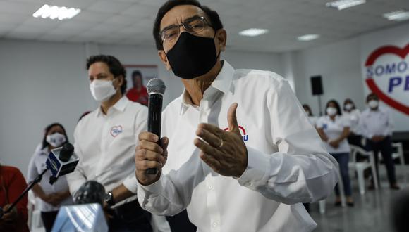 Martín Vizcarra se habría vacunado contra el coronavirus. (Foto: GEC)
