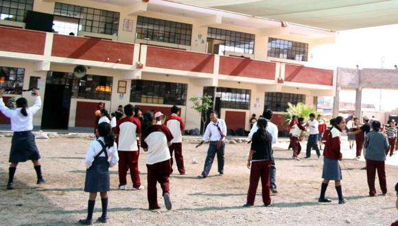 Año escolar 2014 empezará el 10 de marzo. (USI)