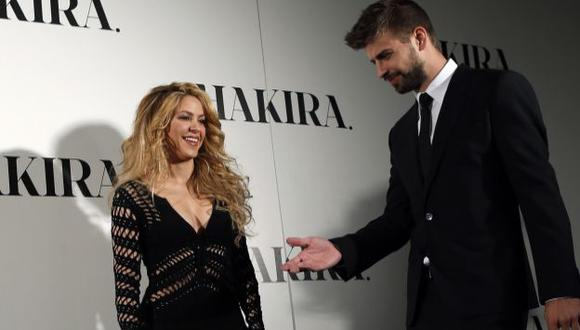 Shakira dice que no para de tocarse con Gerard Piqué. (Reuters)