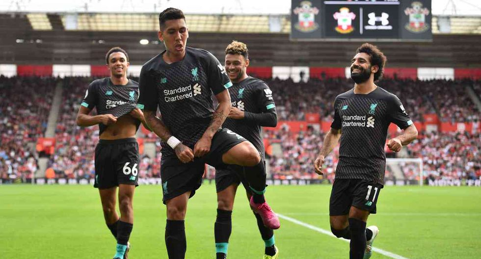 Liverpool vs. Arsenal se miden por la Premier League. (Foto: AFP)