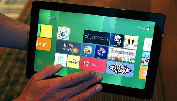 La interfaz táctil del software ha sido desarrollado pensando en los tablets. (ABC.es)