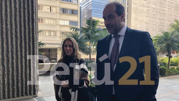"""Carlos Kauffman: """"Jorge Barata ha llegado para continuar con la colaboración"""". (Oscar Quispe)"""