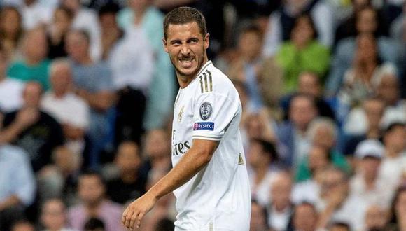 El entrenador de Bélgica se refiere a la temporada de Eden Hazard en el Real Madrid. (Foto: EFE)