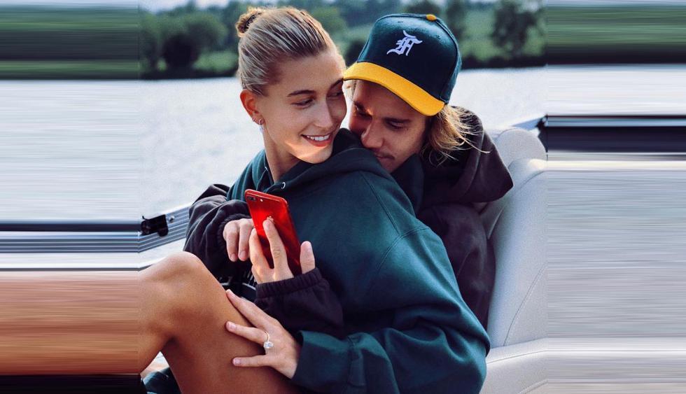 """Justin Bieber habla sobre su primera festividad como hombre casado: """"El amor no siempre es fácil"""" (Foto: @haileybaldwin)"""