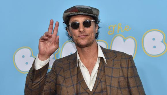 Matthew McConaughey reveló que sufrió abusos sexuales cuando tenía 18 años. (Foto:AFP)