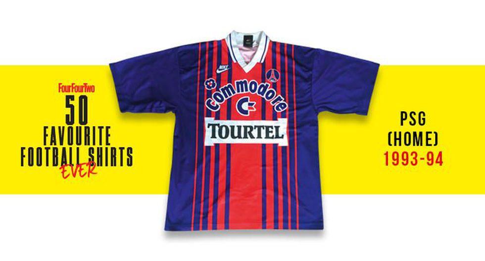 Las 50 mejores camiseta de la historia para la revista FourFourTwo. (Foto: FourFourTwo)