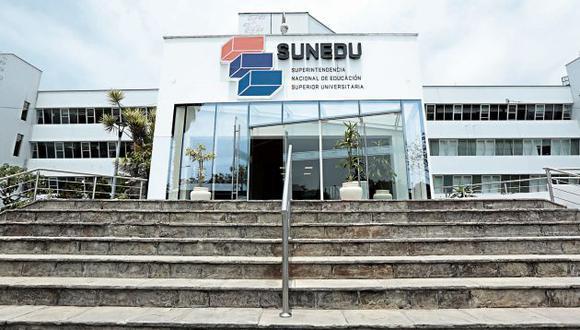 La Sunedu aseguró que seguirá el proceso de licenciamiento a pesar de la presión política. (GEC)