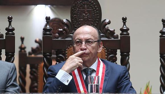 Peláez confirma que asistirá a responder sobre la remoción de fiscales en caso La Centralita. (Peru21)