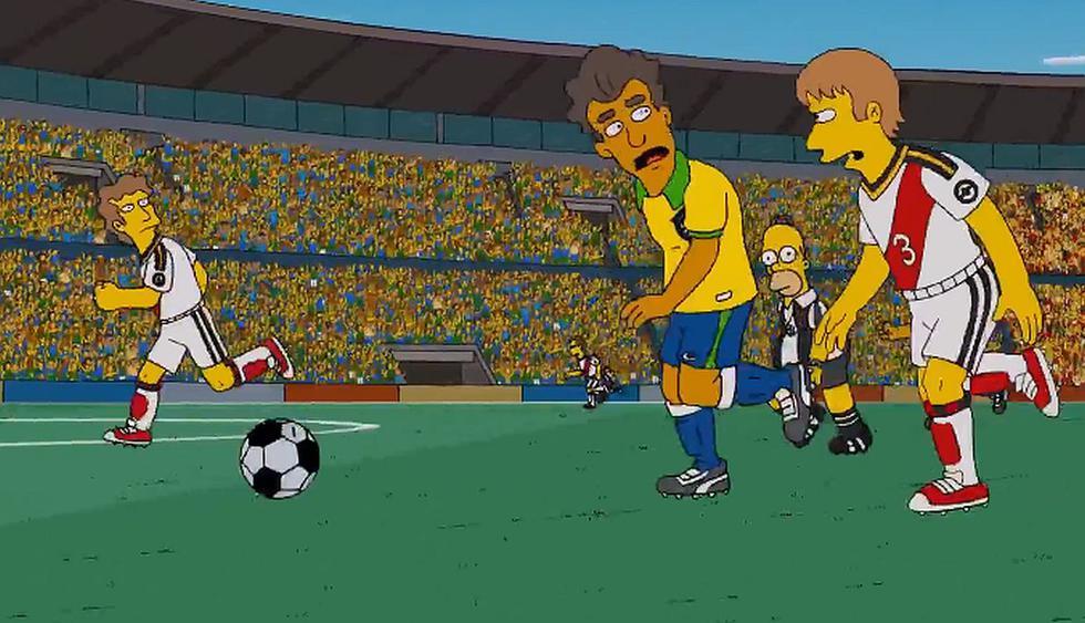 Esta es la verdad tras el viral de que Los Simpson predijeron la final Perú vs Brasil. (Foto: Captura de video)