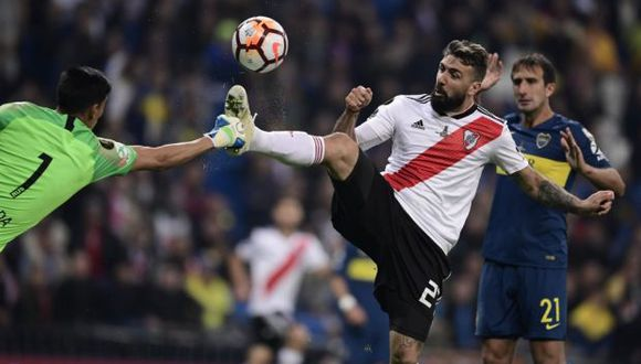 La final de la Copa Libertadores 2019, que esperará por un representante argentino y otro brasileño, se disputará el 23 de noviembre en Santiago de Chile. (Foto: AFP)