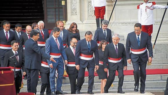 EXPONE PLAN DE GOBIERNO. Presidente del Consejo de Ministros, César Villanueva, pasará su primer examen ante los parlamentarios. (LuisCenturión/Perú21)