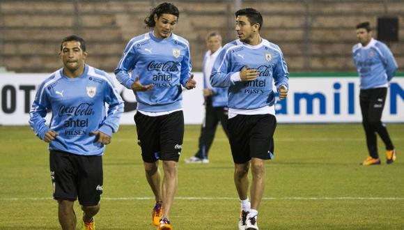 AL RUEDO. Cavani será de la partida en el ataque celeste. (AFP)