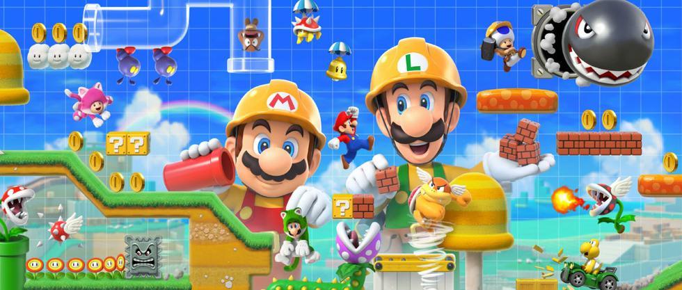 Super Mario Maker 2 llegará desde el próximo 28 de junio en exclusiva a Nintendo Switch.