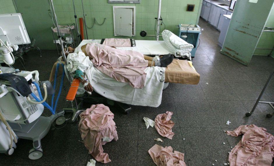 PREOCUPANTE. Nadie está libre de adquirir un virus en un hospital. (Heiner Aparicio)