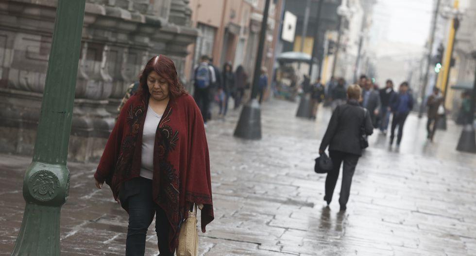 En Lima Oeste la temperatura mínima llegaría a 15°C, mientras que la máxima sería de 18°C. (Foto: GEC)
