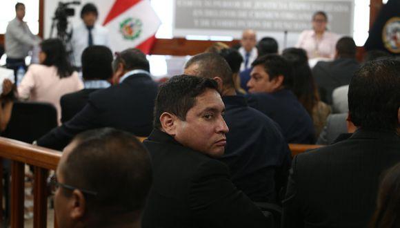 Imputado Raúl Prado Ravines en la audiencia de prisión preventiva.