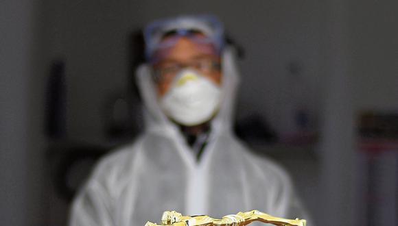 Las inhumaciones serán comprendidas en el protocolo del Ministerio de Salud . (Agencias)
