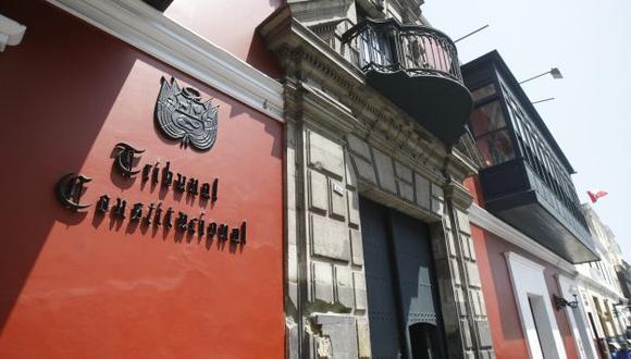 Profesionales será reconocidos como nuevos magistrados del TC. (USI)