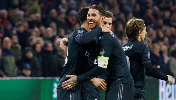 Sergio Ramos confirmó la colaboración del Real Madrid y sus jugadores a las personas afectadas por COVID-19. (Foto: Reuters)