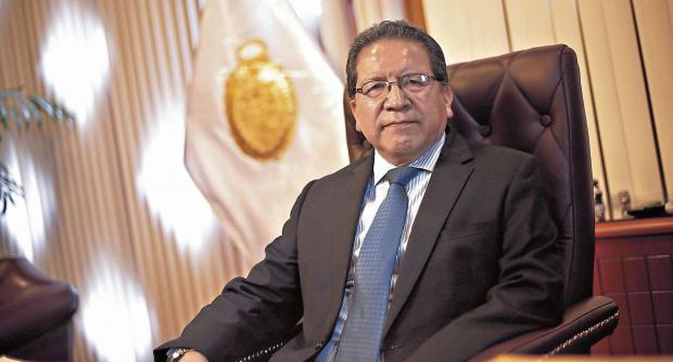 El fiscal de la Nación, Pablo Sánchez, negó que su despacho se haya prestado a realizar interceptaciones telefónicas ilegales. (Peru21)
