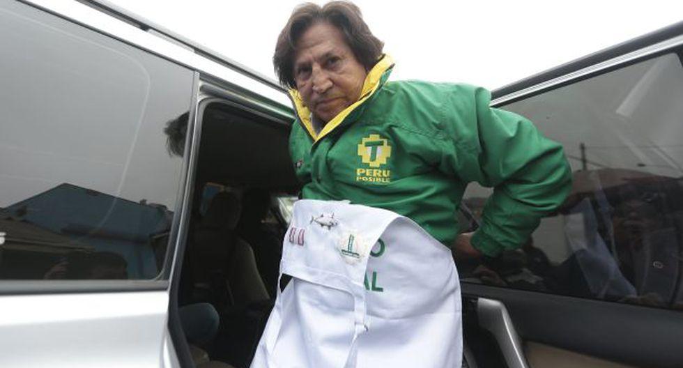 EN CARRERA. El ex presidente Alejandro Toledo podría afrontar un proceso judicial en plena campaña electoral. (Nancy Dueñas)