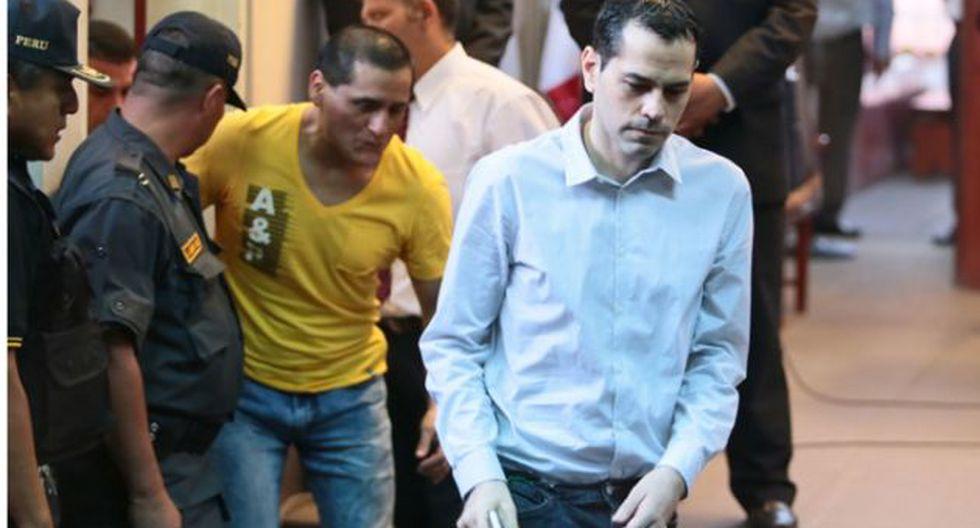 'Loco David' y 'Cholo Payet' le reducen condena a 25 años por asesinato de Walter Oyarce. (Andina)