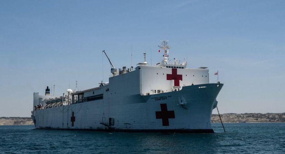 Buque hospital de Estados Unidos atenderá crisis migratoria venezolana en Latinoamérica. (AFP)