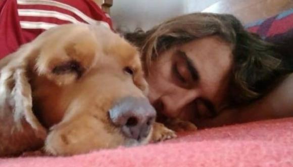 Franco y una de sus mascotas. (Foto: Facebook)