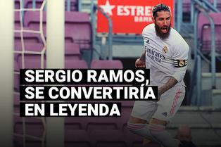 Sergio Ramos se convertiría en leyenda tras esta elección de France Football
